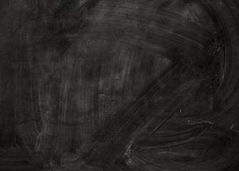 Black chalk board.
