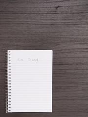 Desktop, Spiral Notebook, List