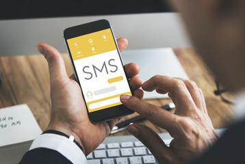Message Live Chat Communication Concept