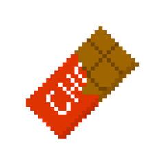 pixel chocolate