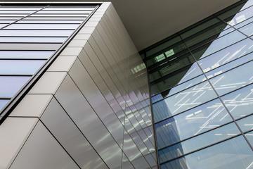 Gebäudefassade Fensterfront