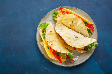 Mexican Food Chicken Tacos