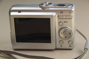 Arrière d'un appareil photo numérique compact