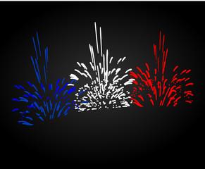 feu d'artifice fête nationale