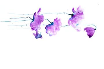 Poppy flowers painting