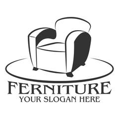 Ferniture company logo design