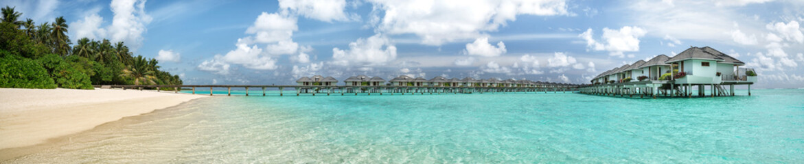 Malediven Panorama, Sun Island. Nalaguraidhoo, Alif Dhaal Atoll,