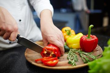 Cutting vegs