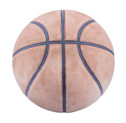 Basketball isolated on white background.