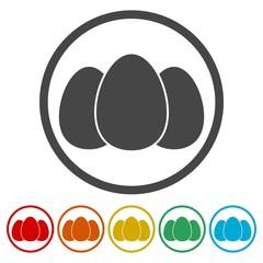 Egg vector icon, Egg Icon