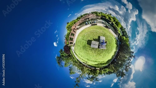 """Little Tiny Planet 360 Degree Opole Zoo Green Lawns ..."