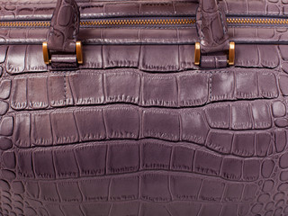 The Leather female handbag.