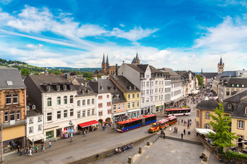 Panoramic aerial view of Trier