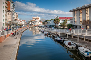 Ville balnéaire italienne de Viareggio
