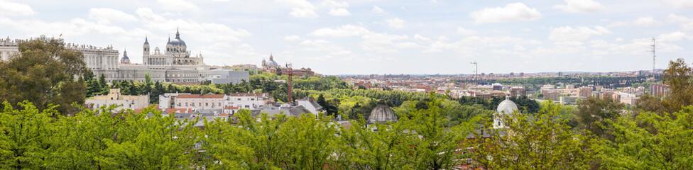 Panorama di Madrid - Spagna