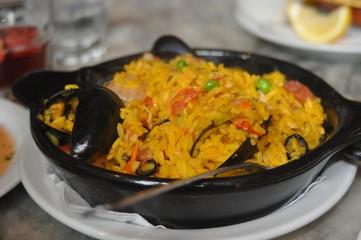 Paella spanish rice