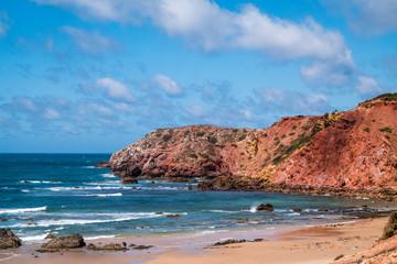 Portugal - Cliffs, ocean and beach