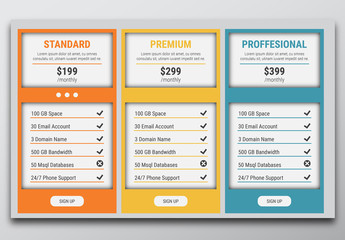 Vector Service Package Options Banner 1