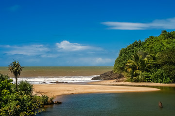 Beautiful Madagascar coast