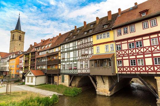 Bridge Kramerbrucke in Erfurt