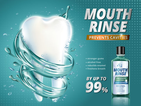 Mouth rinse ads