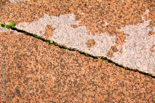 Texture, background  granite curbs