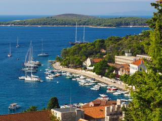 Hvar harbor,Croatia