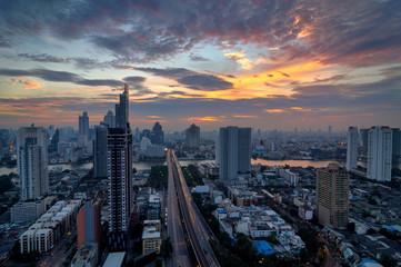 Bangkok morning view