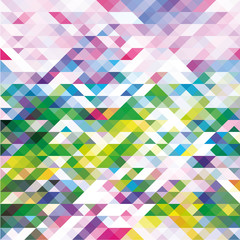 Abstract triangles pattern background. Vector illustration. EPS10