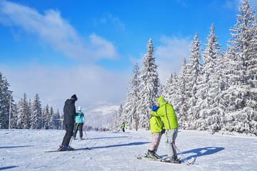 mountain ski