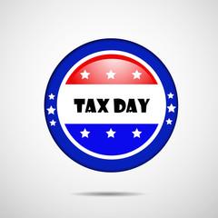 U.S.A Tax Day background