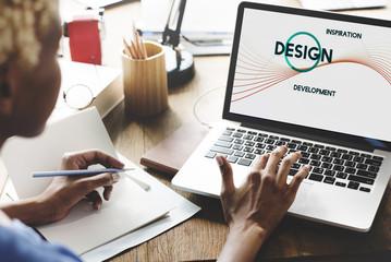 Inspiration Development Design Creative Thinking Concept