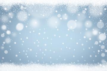 Winter Hintergrund Schnee Schneeflocken