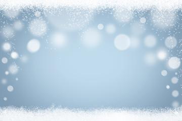 Winter Schnee Hintergrund Schneeflocken