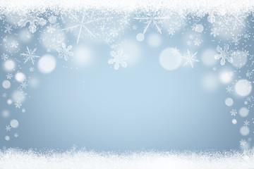 Winter Schneeflocken Schnee Hintergrund