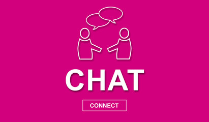 Concept of chatting