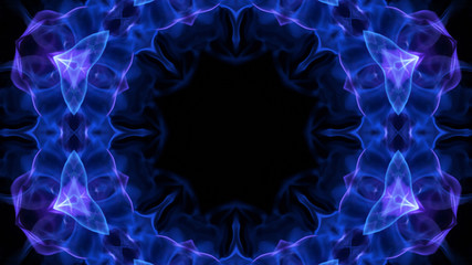Kaleidoscope Abstract Flower Background