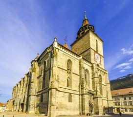 Wall Mural - Medieval black church, Brasov, Transylvania, Romania