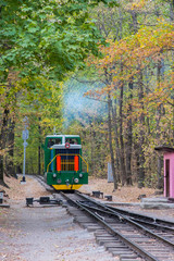Children's Railway in Kharkov, small railway