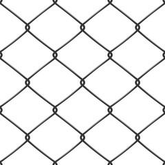Metallic wired Fence seamless pattern