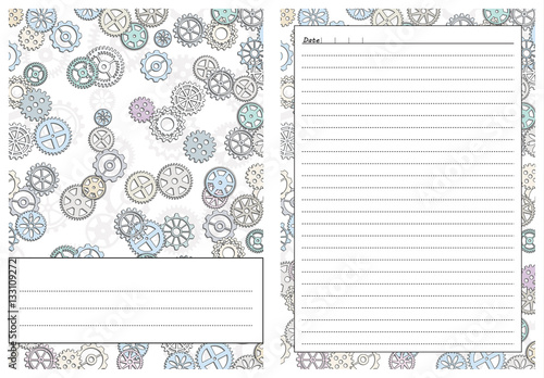 Set Of Pages Template For Daily Planner Printable For