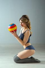 beauty sport woman training