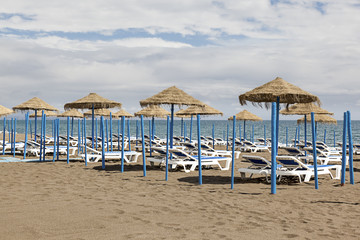Torremolinos on Costa del Sol in Southern of Spain