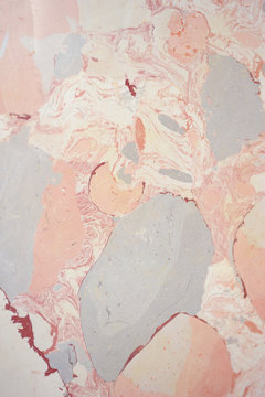 Texture of pink marble plates, decoration material