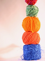 Yarn stacked
