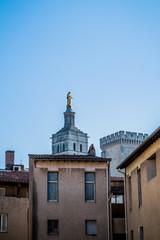 Avignon et la Cathédrale Notre-Dame-des-Doms