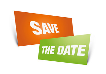 Save the date, sign, register