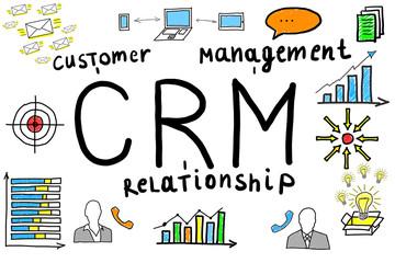 Illustrative Diagram Of Customer Relationship Management