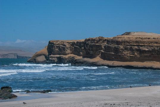 Pisco Chile Shoreline