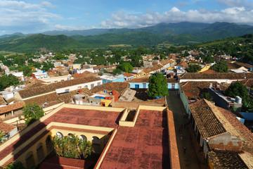 Cityscape of Trinidad, Cuba. UNESCO World Heritage Site.